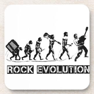 Rock Evolution funny design Coaster