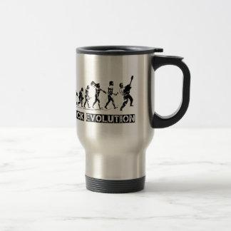Rock Evolution funny design Travel Mug