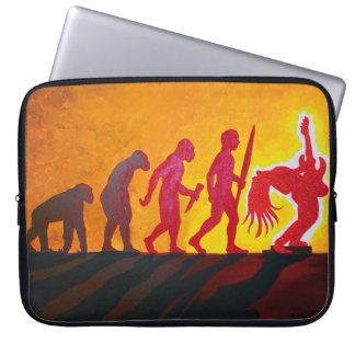 Rock Evolution - iPad pouches Computer Sleeve