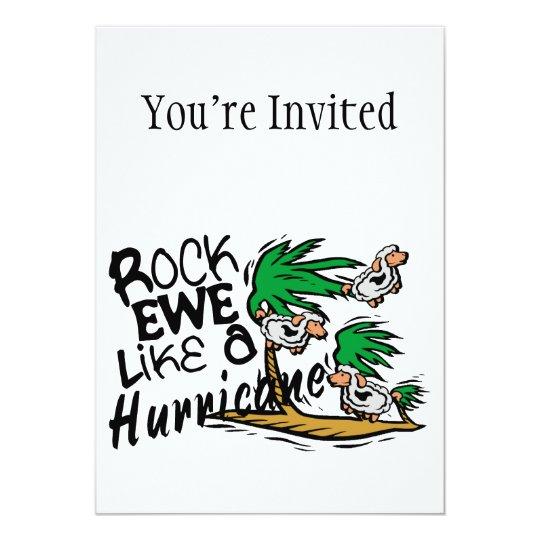 Rock Ewe Like A Hurricane Card