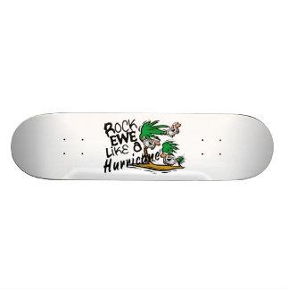 Rock Ewe Like A Hurricane Skateboard Deck