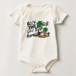Rock Ewe Baby Bodysuits