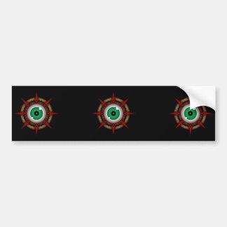 Rock Eye Parasite Bumper Stickers