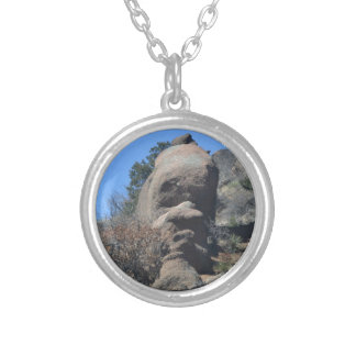 Rock Face Personalized Necklace