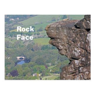 Rock Face postcard