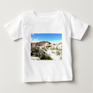 Rock Face with Lipstick Baby T-Shirt