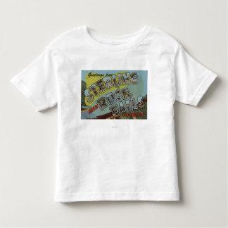 Rock Falls - Large Letter Scenes Toddler T-shirt