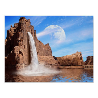 Rock Falls Poster