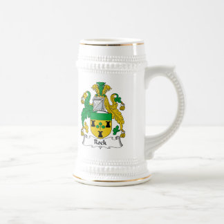 Rock Family Crest Beer Stein