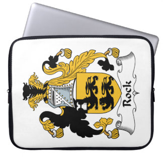 Rock Family Crest Laptop Sleeves