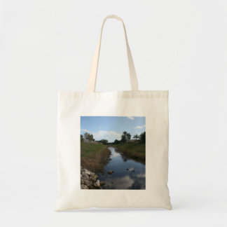 Rock Fence Water House Florida Picture Bag