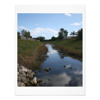 Rock Fence Water House Florida Picture Invites