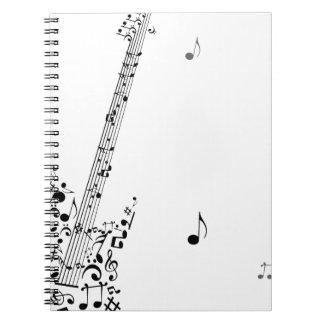 Rock festival notebook