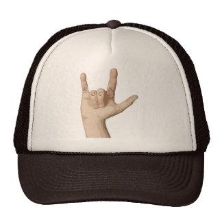 Rock Fingers Trucker Hats