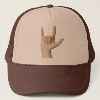 Rock Fingers Trucker Hat