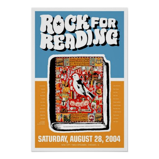 Rock for Reading Print