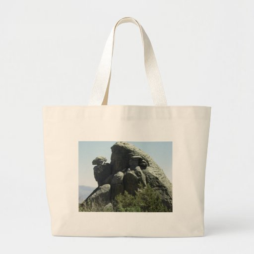 Rock Formation Canvas Bags