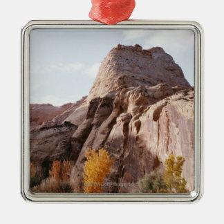 Rock formation, Capitol Reef National Park, Utah Metal Ornament