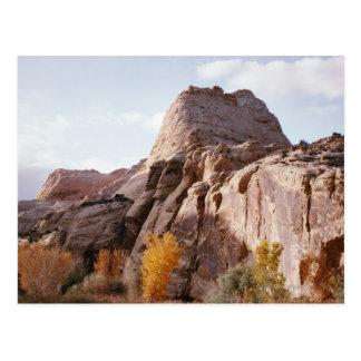 Rock formation, Capitol Reef National Park, Utah Postcard