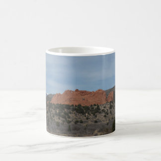 Rock formation coffee mug