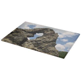 Rock Formation in Bulgaria Cutting Board