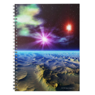 Rock Formation Spiral Notebook