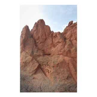 Rock formation stationery paper