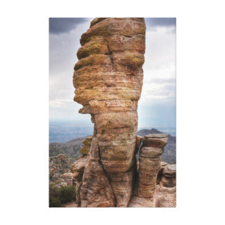 Rock Formation, View from Mt. Lemmon Canvas Print