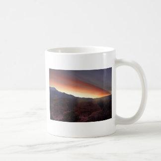 Rock Formations at Sunset Coffee Mug