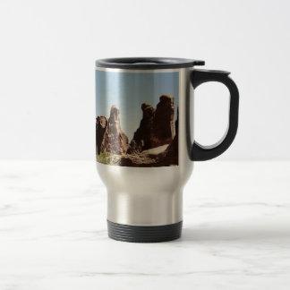 Rock Formations in Utah 15 Oz Stainless Steel Travel Mug