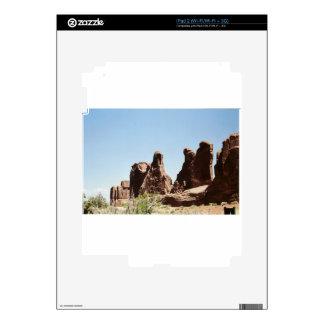 Rock Formations in Utah iPad 2 Skin