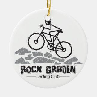 Rock Garden Ceramic Ornament