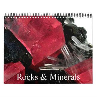 Rock & Gem Collection Calendar