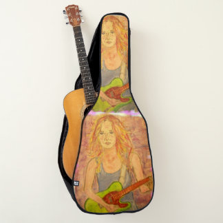 Rock Girl Guitar Case