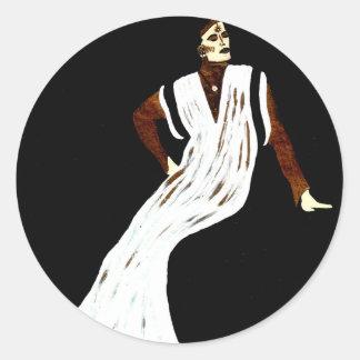 """""""Rock Goddess"""" CricketDiane Designer Stuff Classic Round Sticker"""