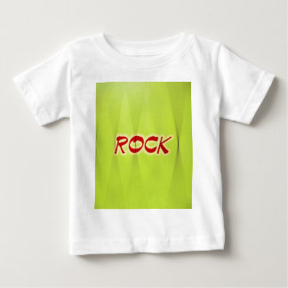 Rock Green Florescent Design Style Fashion Baby T-Shirt
