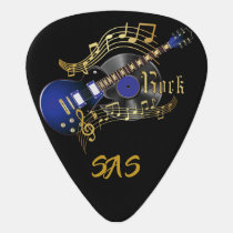 Rock Guitar 🎸- Blue Guitar Pick