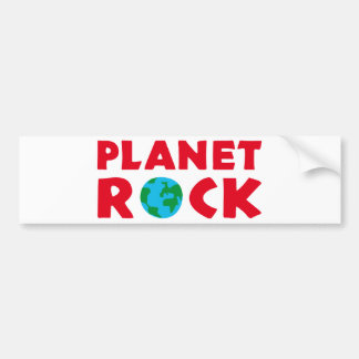 rock guitar bumper sticker