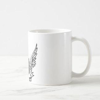 rock guitar coffee mug