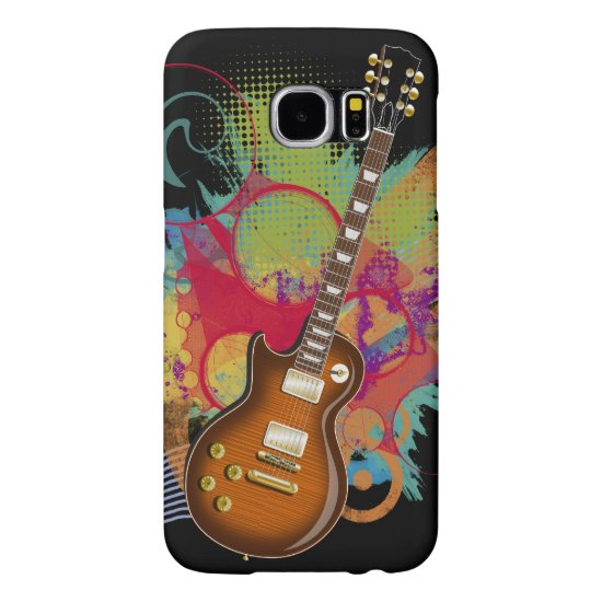 Rock Guitar Grunge Samsung Galaxy S6 Case