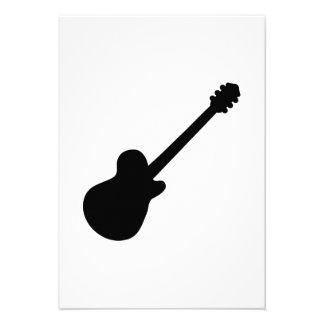 Rock Guitar Custom Invites