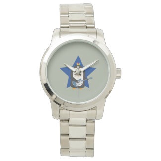 Rock Guitar Penguin Wrist Watch
