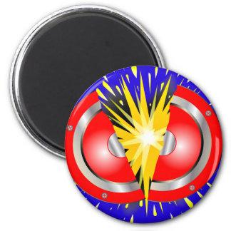 Rock Guitar Speaker Explosion 2 Inch Round Magnet