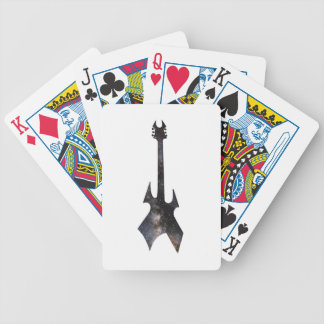 Rock Guitar Universe Bicycle Playing Cards