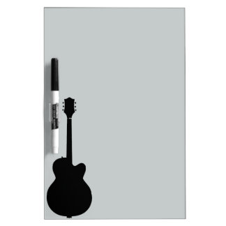 rock guitar vector dry erase board
