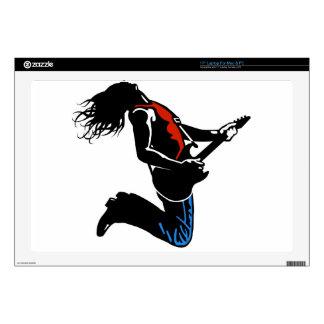 Rock Guitarist Skin For Laptop