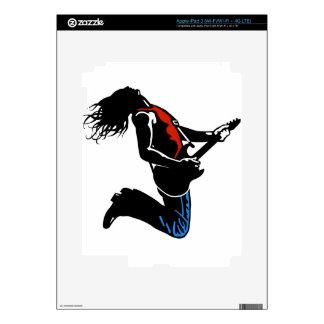 Rock Guitarist Skins For iPad 3