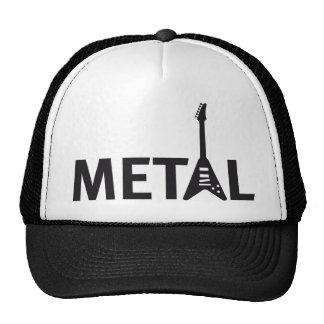 rock guitars trucker hat
