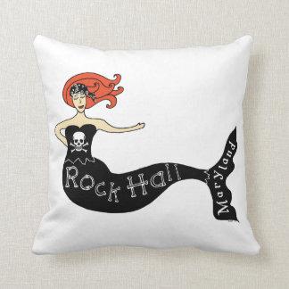 Rock Hall, Maryland Mermaid Pillow