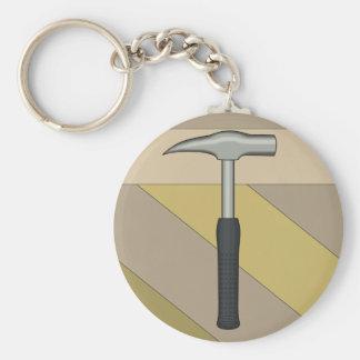 Rock Hammer Keychain
